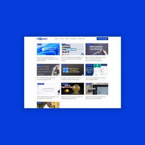 faqontech Blog Re-design